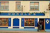 restaurant sign stock photography | Ireland, County Galway, Kinvara pub, image id 4-900-914