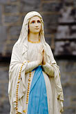 blue stock photography | Religious Art, Statue of Mary, image id 4-900-929