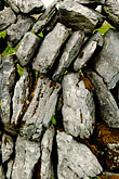 vertical stock photography | Ireland, County Clare, Stone wall on the Burren, image id 4-900-948