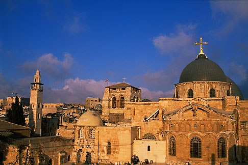 image 9-340-96 Israel, Jerusalem, Church of Holy Sepulchre