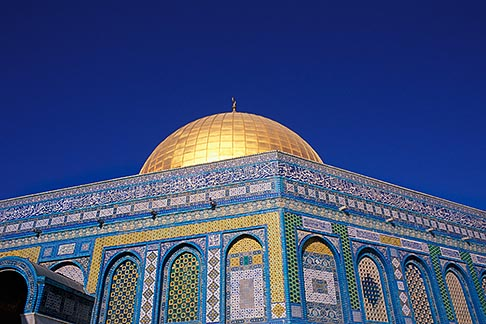 image 9-350-4 Israel, Jerusalem, Dome of the Rock