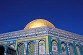 gold stock photography | Israel, Jerusalem, Dome of the Rock, image id 9-350-4