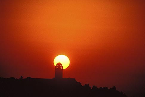 image 9-350-68 Israel, Jerusalem, Sunrise over Mount of Olives