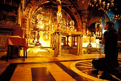 image 9-350-70 Israel, Jerusalem, Chapel of Calvary, Church of Holy Sepulchre