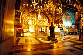 praying stock photography | Israel, Jerusalem, Chapel of Calvary, Church of Holy Sepulchre, image id 9-362-14