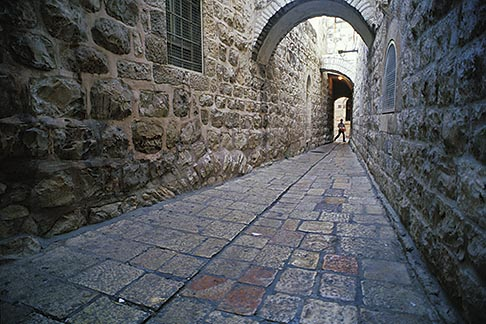 image 9-362-23 Israel, Jerusalem, Alleyway, Old City
