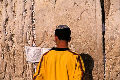 image 9-362-65 Israel, Jerusalem, Prayers, Western Wall