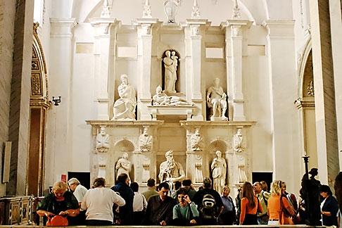 image S4-500-3512 Italy, Rome, San Pietro in Vincoli, Moses statue