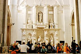 sculpture stock photography | Italy, Rome, San Pietro in Vincoli, Moses statue, image id S4-500-3512