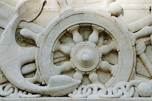 image S4-500-3670 Italy, Rome, Detail, Vittoria Emanuele II Monument, or Vittoriano