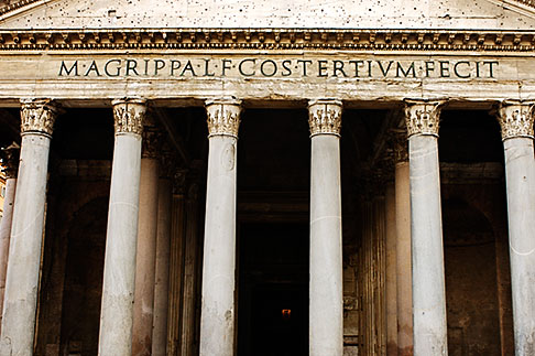 image S4-500-3888 Italy, Rome, Pantheon