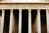 entrance stock photography | Italy, Rome, Pantheon, image id S4-500-3888
