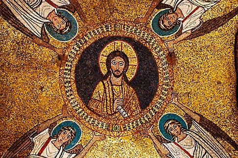 image S4-501-4080 Italy, Rome, Chapel of San Zeno, Santa Prassede