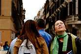 woman stock photography | Italy, Rome, Looking up the Spanish Steps, Piazza di Spagna, image id S4-501-4496