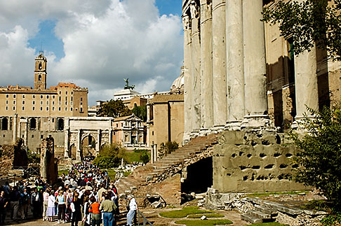 image S4-502-4844 Italy, Rome, Forum