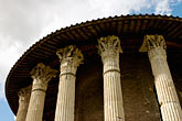 horizontal stock photography | Italy, Rome, Temple of Vesta, image id S4-502-4966