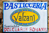 shop stock photography | Italy, Rome, Sign, image id S4-502-5181