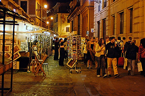image S4-502-5385 Italy, Rome, Street scene