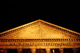 dark stock photography | Italy, Rome, Pantheon, image id S4-502-5414