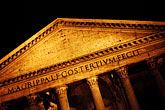 dark stock photography | Italy, Rome, Pantheon, image id S4-502-5422