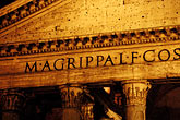 dark stock photography | Italy, Rome, Pantheon, image id S4-502-5425