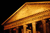 dark stock photography | Italy, Rome, Pantheon, image id S4-502-5445