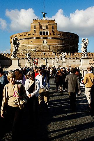 image S4-503-5602 Italy, Rome, Castel SantAngelo