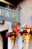 bar stock photography | Italy, Rome, Bar, Castel Sant