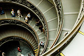 exhibit stock photography | Vatican City, Spiral Staircase, Vatican Museum, image id S4-504-5911