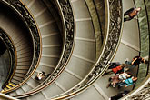 exhibit stock photography | Vatican City, Spiral Staircase, Vatican Museum, image id S4-504-5913