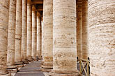 stonework stock photography | Vatican City, Colonnade, Piazza San Pietro, image id S4-504-6085