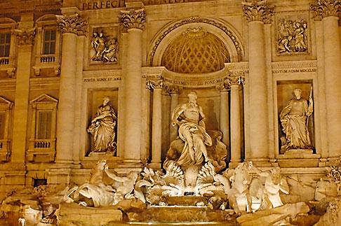 image S4-504-6199 Italy, Rome, Trevi Fountain