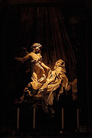image S4-505-6359 Italy, Rome, Ecstasy of St Teresa, Bernini