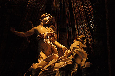 image S4-505-6372 Italy, Rome, Ecstasy of St Teresa, Bernini