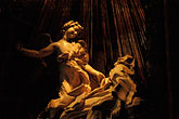 travel stock photography | Italy, Rome, Ecstasy of St. Teresa, Bernini, image id S4-505-6372
