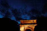 horizontal stock photography | Italy, Rome, Arch, Forum, image id S4-505-6507