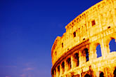 horizontal stock photography | Italy, Rome, Colosseum, image id S4-505-6531