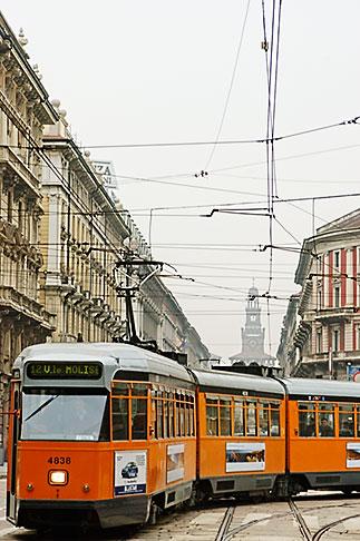 image S4-510-6788 Italy, Milan, Streetcar