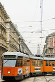 travel stock photography | Italy, Milan, Streetcar, image id S4-510-6788
