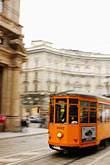 mass transport stock photography | Italy, Milan, Streetcar, image id S4-510-6797