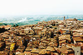 downtown stock photography | Italy, SIena, View of town, image id S4-521-8072