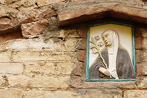image S4-522-8288 Italy, Siena, Wall Decoration