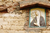mater dios stock photography | Italy, Siena, Wall Decoration, image id S4-522-8288