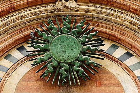 image S4-522-8482 Italy, Siena, Entryway, Duomo