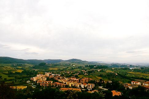image S4-528-8701 Italy, San Gimignano, View of Tuscany