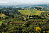 overlook stock photography | Italy, San Gimignano, Surrounding countryside, image id S4-528-8818