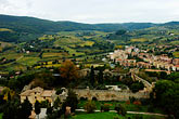 horizontal stock photography | Italy, San Gimignano, Surrounding countryside, image id S4-528-8832