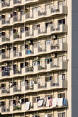pattern stock photography | Japan, Tokyo, Apartment building, image id 5-850-1950