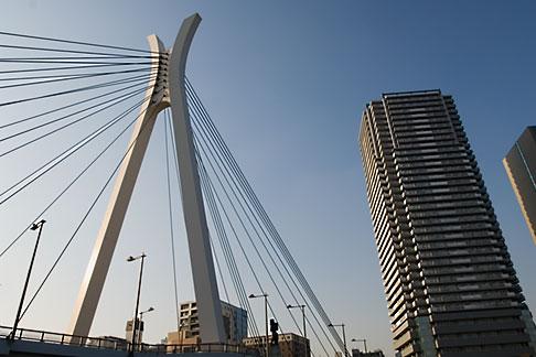 image 5-850-1959 Japan, Tokyo, Sumida River, Chuo ohashi Bridge