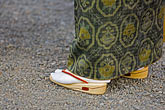 one woman only stock photography | Japan, Tokyo, Asakusa Kannon Temple, Woman in traditional shoes, image id 5-850-2011